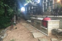 17 Luder's stone outdoor kitchen