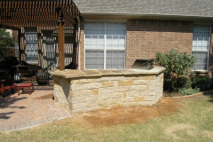 Luders Stone and Oklahoma Curved Counter Top