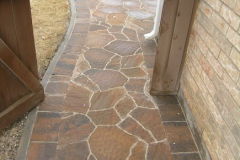 Belgard Mega Arbel with Bergerac boarder