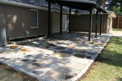 Flagstone Slate Tile dry lay (2)