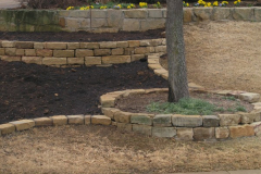 2 dry stack millsap walls edging