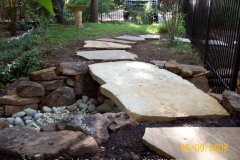 Flagstone slab bridge (1)