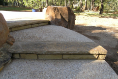 Stone and Concrete steps with slab step 1_1