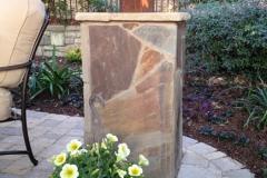 Flagstone column