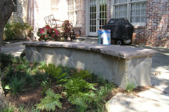 Slate Stone Bench (2)
